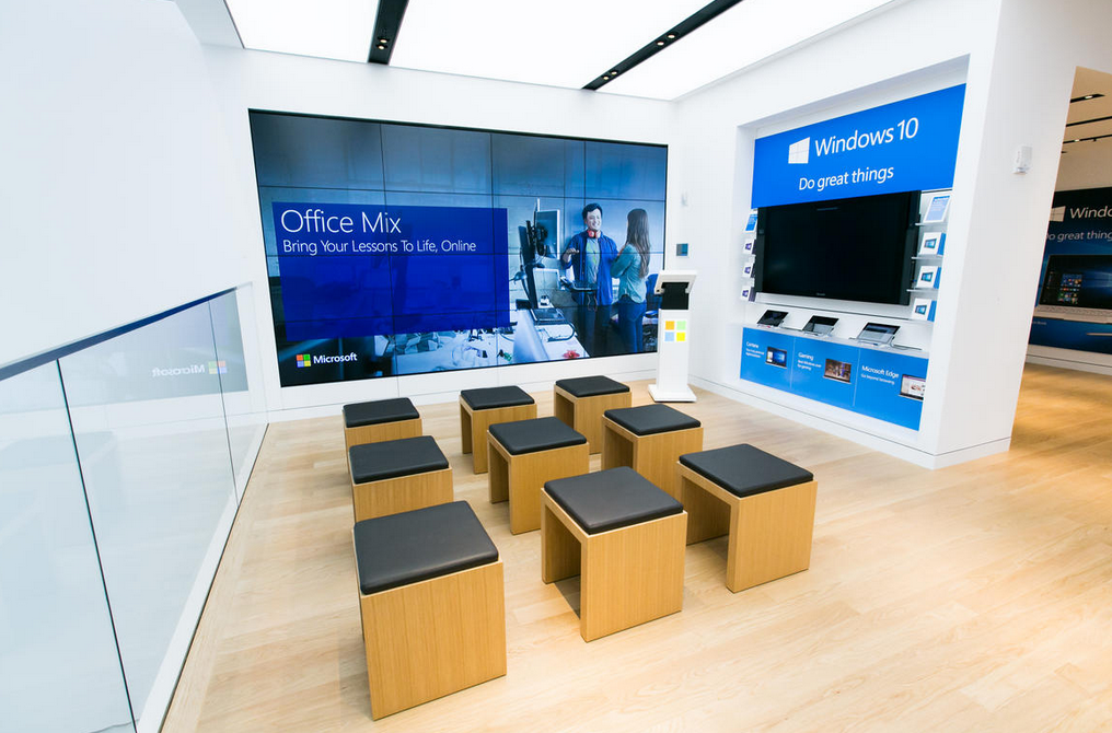 Foto de Microsoft en la Quinta Avenida (1/8)