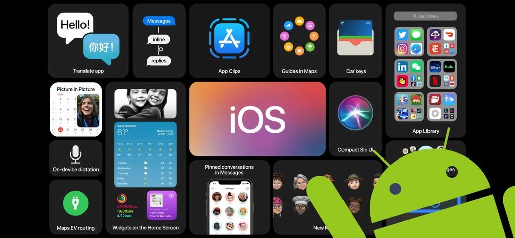 Cinco novidades do iOS 14 que já estavam no Android: widgets, gaveta de apps, modo PiP e mais