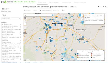 Puntos Internet Wi Fi 200 Mbps Gratis Cdmx