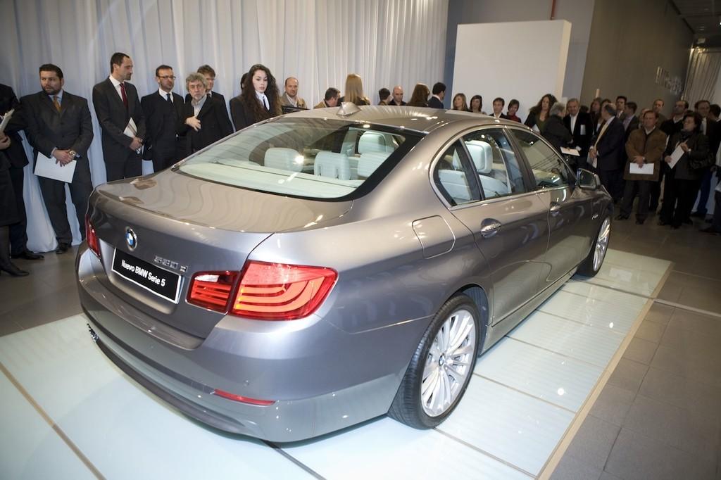 Foto de BMW Serie5 presentación estática en Madrid (6/9)