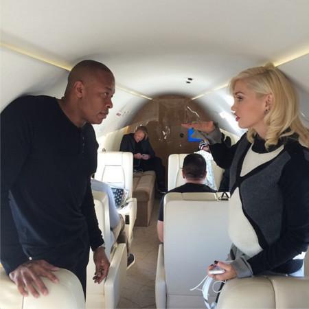 Dr Dre y Gwen Stefani