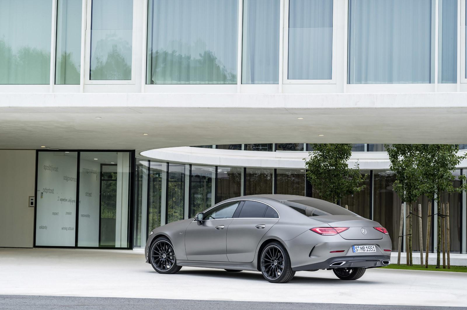 Foto de Mercedes-Benz CLS Coupé 2018 (47/56)