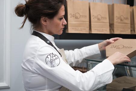 Carmen Capote En El Obrador De 24 Onzas C Cgm Comunicacion Para 24 Onzas