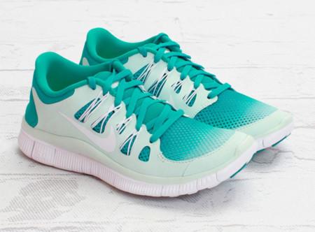 Nike Womens Free 5.0+ Breathe, un turquesa caribeño