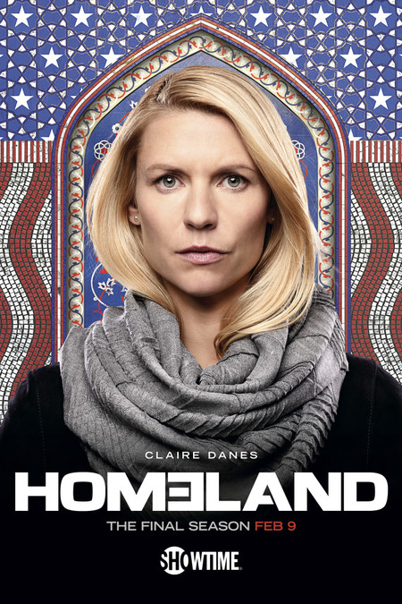 Homeland Season 8 Poster Key Art