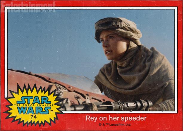 'Star Wars: El despertar de la fuerza', imágenes oficiales en forma de cromos