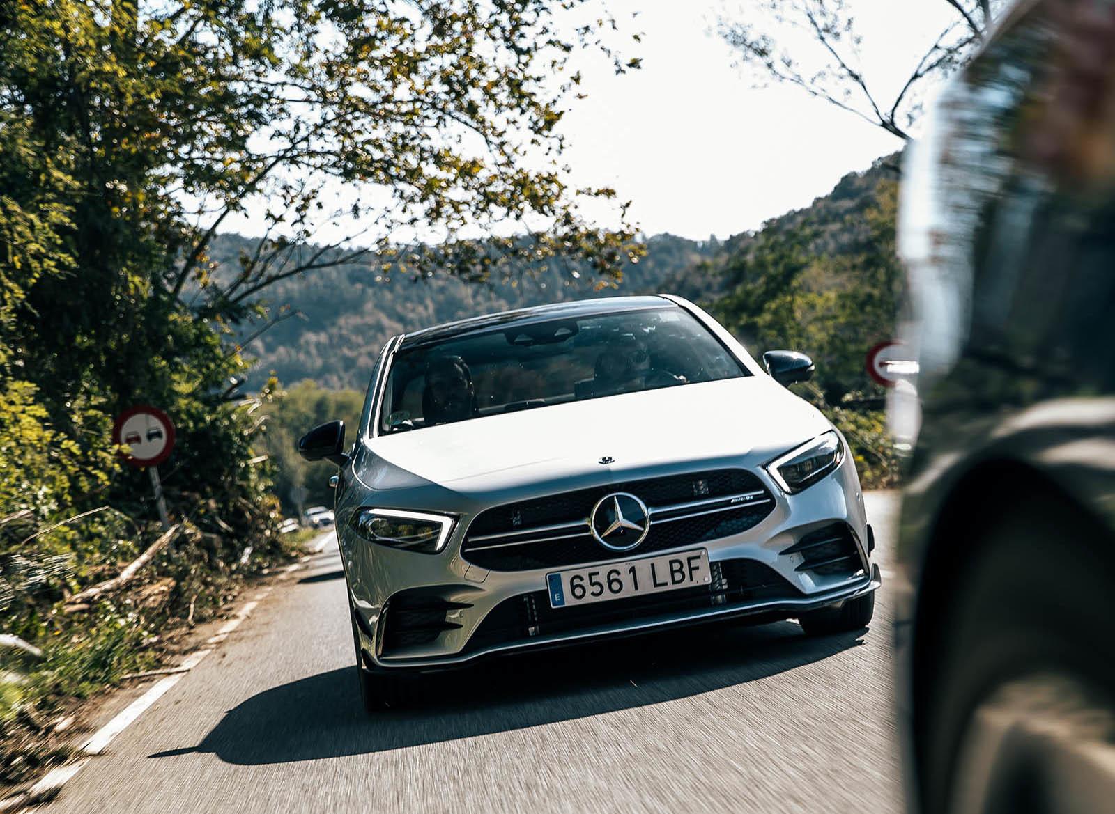 Foto de Mercedes-AMG A35 Sedan prueba contacto (20/29)