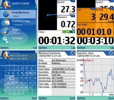 Nokia Sports Tracker: utiliza tú móvil vía GPS para monitorizar los entrenamientos