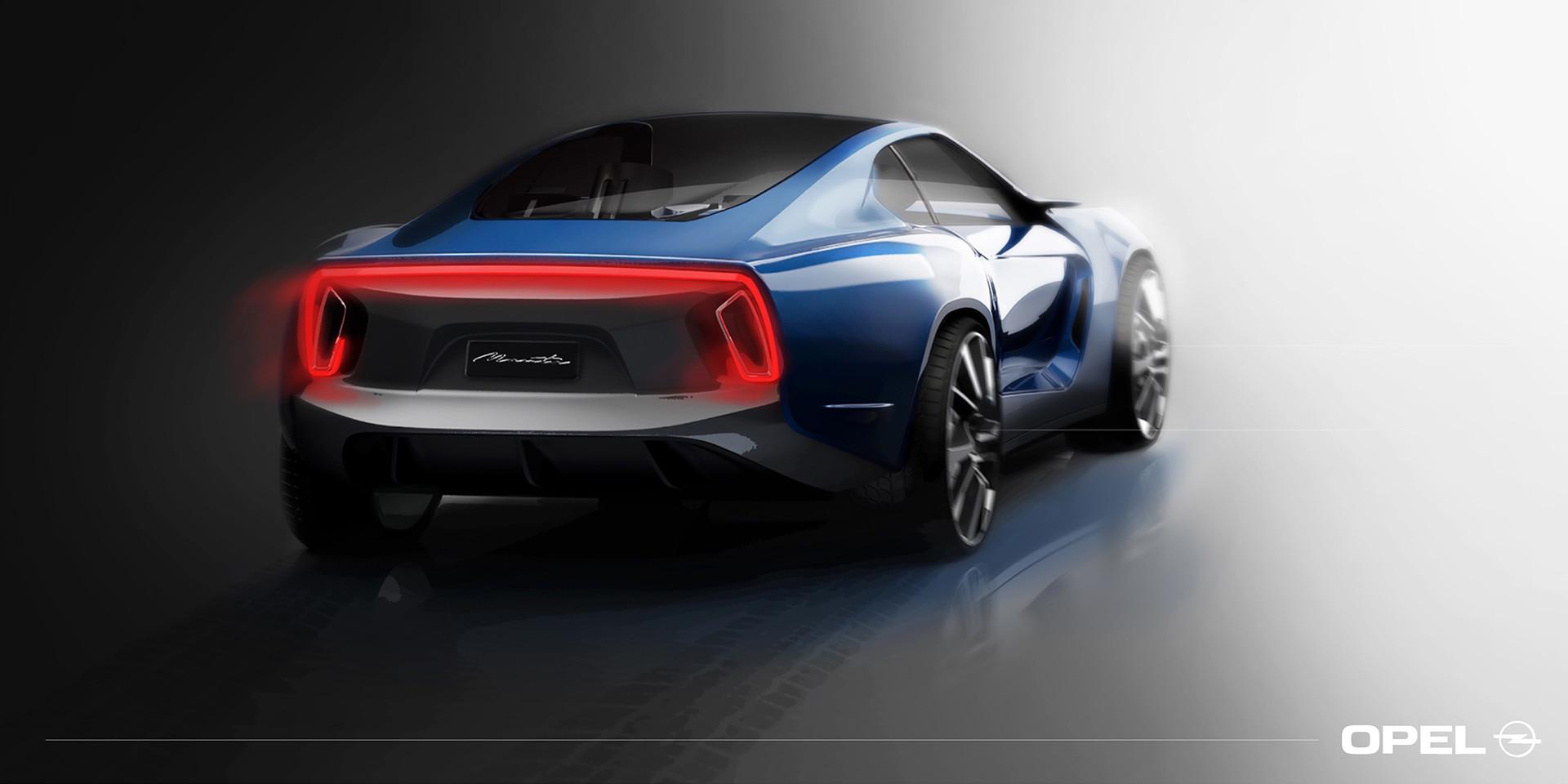 Foto de Opel Manta Concept - Behance (3/8)