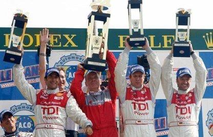 El Audi TDI vence en Le Mans