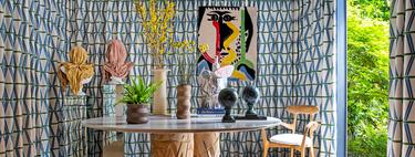 Inspiración para un hall o para un comedor: Andina & Tapia decoran un espacio en Gancedo