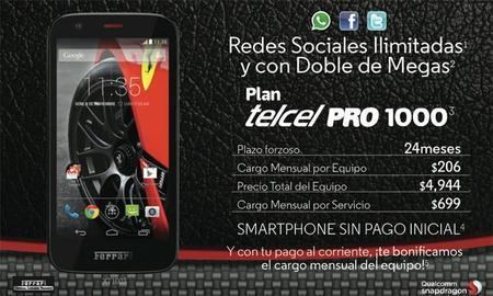 Promociones navideñas de Telcel y Motorola