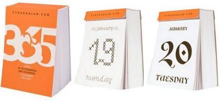 Typodarium, calendario 2010
