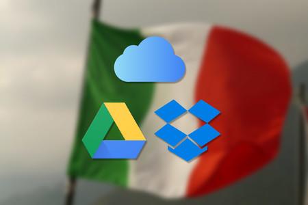 Italia abre seis investigaciones contra iCloud, Dropbox y Google Drive por presuntas violaciones de los derechos del consumidor