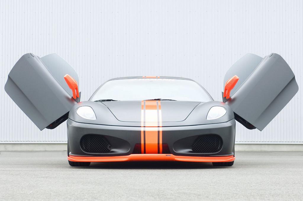 Ferrari F430 Black Miracle by Hamann