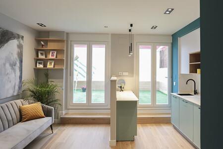 Salon Cocina Casa Abierta
