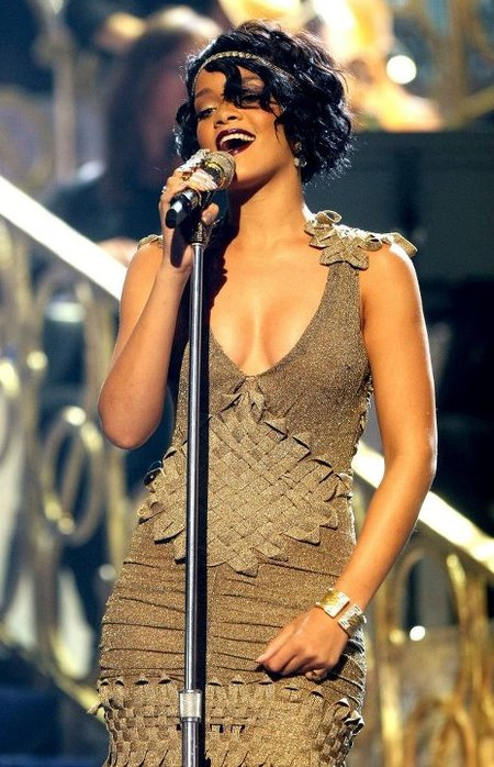 Rihanna Amas 2007