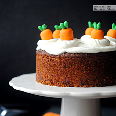 Pastel de zanahoria sin gluten, receta para celiacos