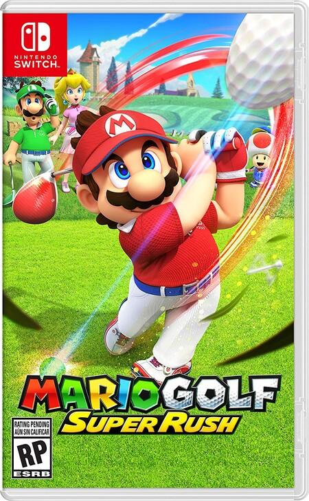 Mario Golf: Star Rush, preventa ya disponible en Amazon México