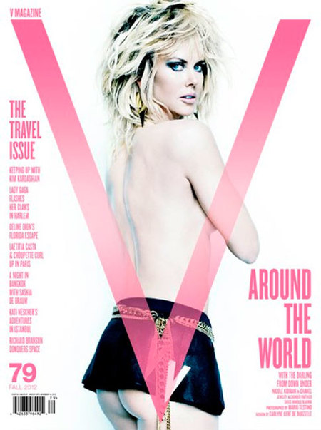 Nicole Kidman, has perdido todo tu glamour en V Magazine