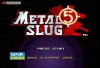 Imágenes de Metal Slug 5