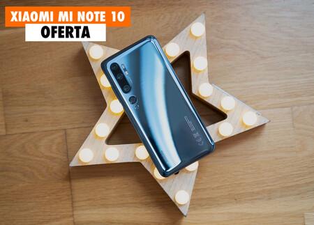 El Xiaomi Mi Note 10, con 5 cámaras, a precio de locura en el Prime Day: llévatelo hoy por 299 euros
