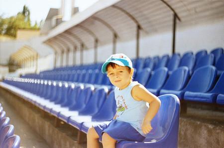 Los niños menores de siete años y el acceso a los campos de fútbol