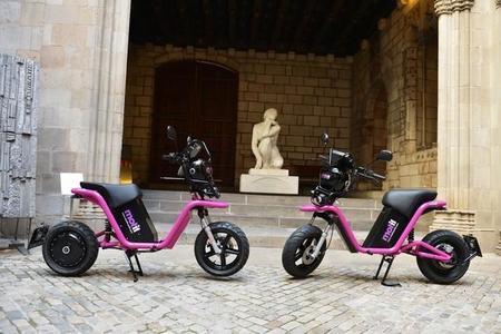 Arranca en Barcelona el moto sharing con la eléctrica CORE como protagonista