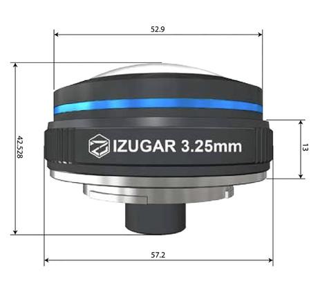 Dimensiones iZugar MKX22