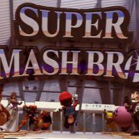 Mario recorre las calles de Tokyo a toda prisa para no llegar tarde a Super Smash Bros.
