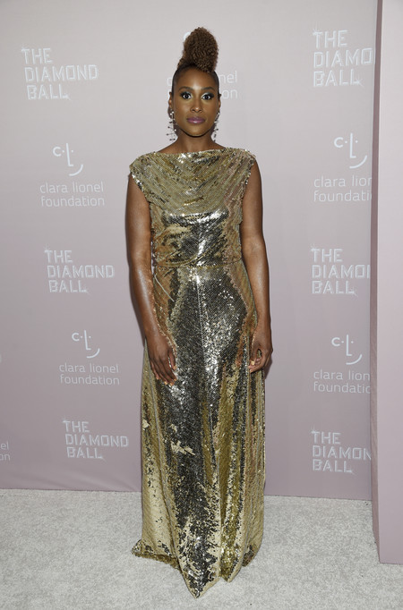 Issa Rae diamond ball