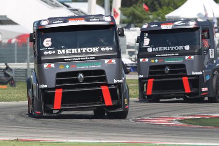 Comenzó el Campeonato de Europa de Carreras de Camiones