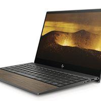 Adiós al aluminio: la madera conquista hasta el touchpad de los nuevos portátiles de HP