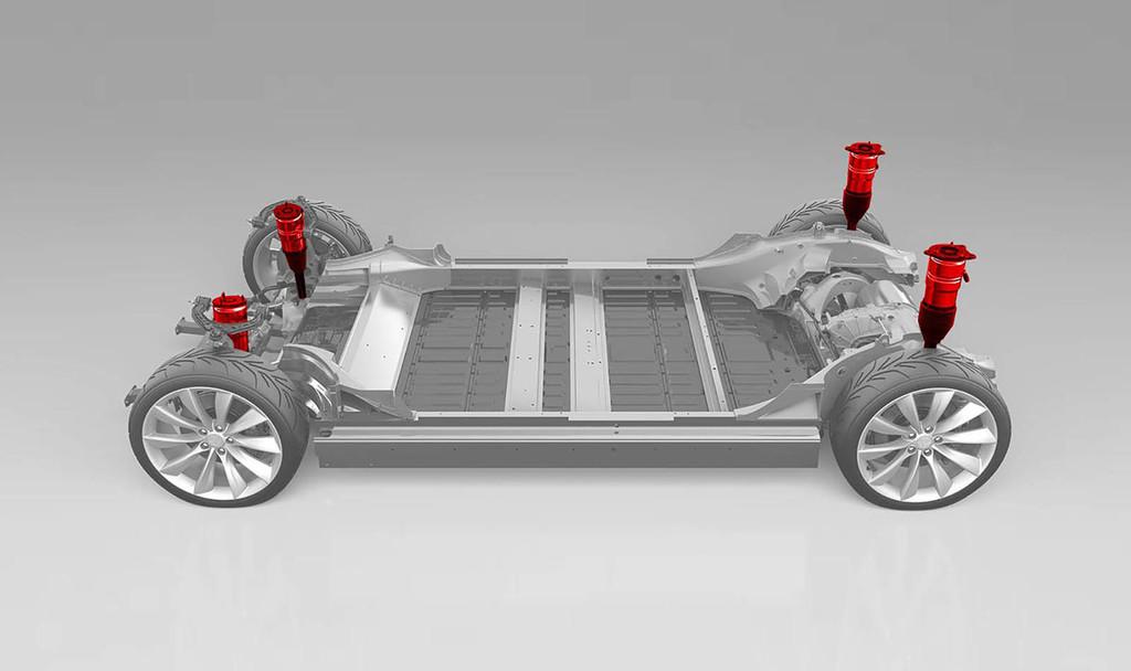 El Tesla Model 3 podría finalmente equipar la esperada suspensión neumática para jugar con la altura del coche