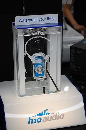 Carcasas sumergibles para iPod