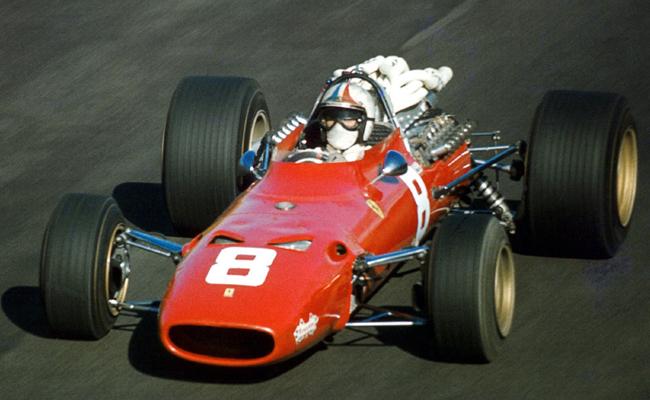 Chris Amon Ferrari 312