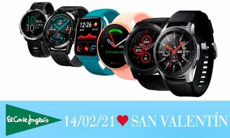 11 relojes inteligentes y pulseras deportivas rebajados en El Corte Inglés para regalar en San Valentín