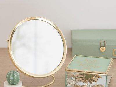 El metal dorado, uno de los grandes protagonistas de la nueva colección de baño de Maisons du Monde