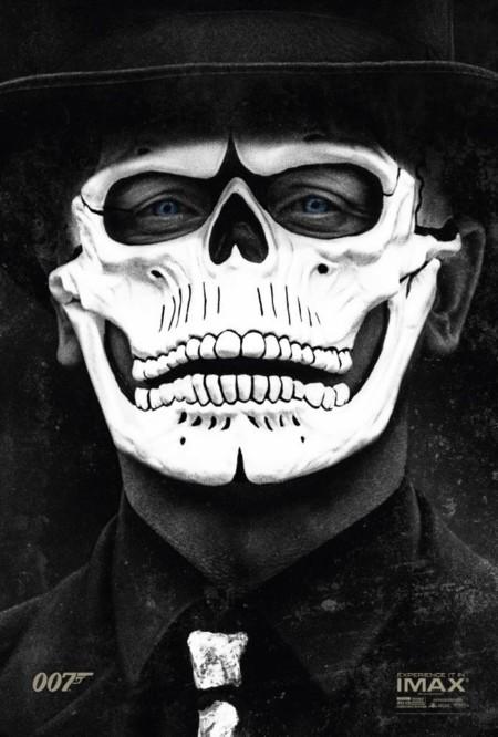 El póster para IMAX de 007: Spectre