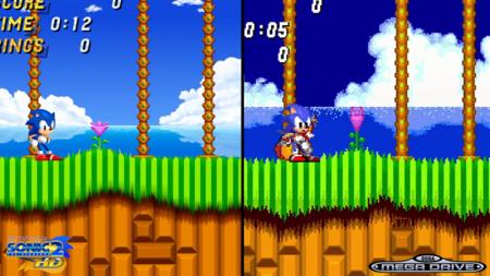 La demo de Sonic 2 HD frente al clásico de MegaDrive: el mejor juego de Sonic merece un regreso así