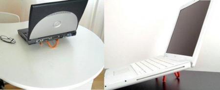 Mini Riser, soporte para portátil de diseño minimalista