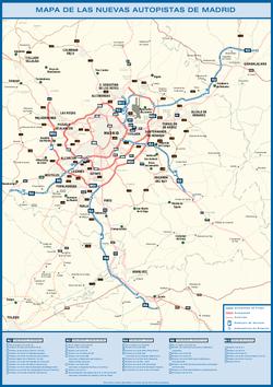 La agonía de las autopistas de peaje de Madrid se prolonga un poco más