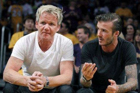 El nuevo estilo rockero de David Beckham