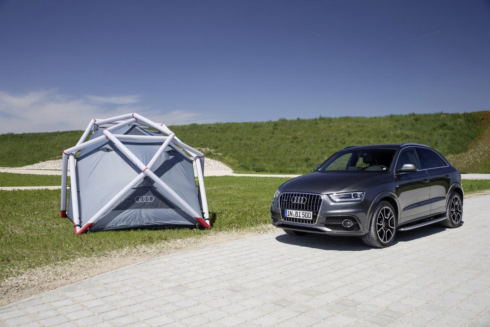 Foto de Audi Q3 Camping Tent (4/6)