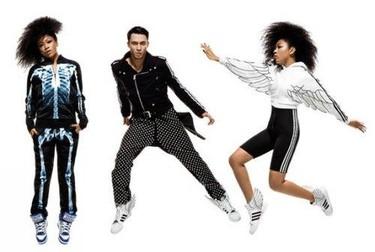 Primeras imágenes del lookbook de Jeremy Scott para Adidas