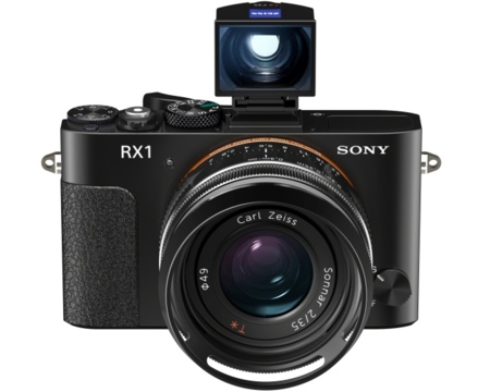 Sony RX1 con visor electrónico