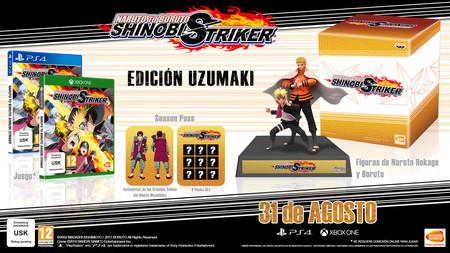 Naruto To Boruto Shinobi Striker Edicion Coleccionista