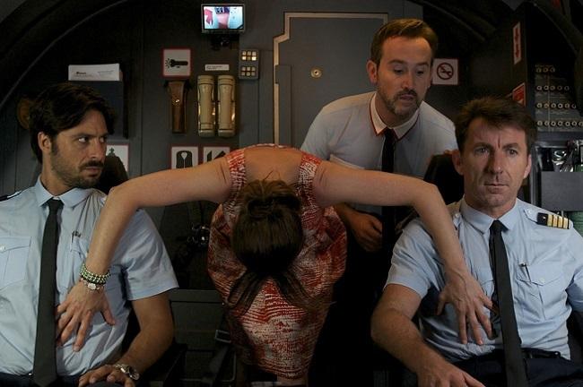 Una curiosa escena de 'Los amantes pasajeros'