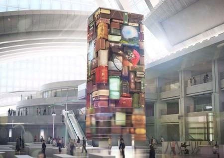 Entorno multimedia inmersivo en el aeropuerto de Los Angeles. Viajar aún puede tener magia