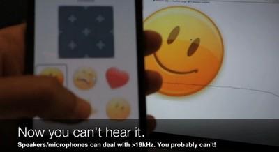 Redes ultrasónicas como alternativa a NFC y Bluetooth: abstenerse niños y mascotas